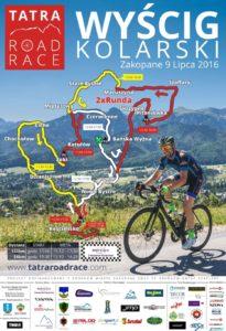 plakat tatra road race 2016