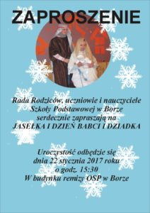 jasełka wBorze_plakat