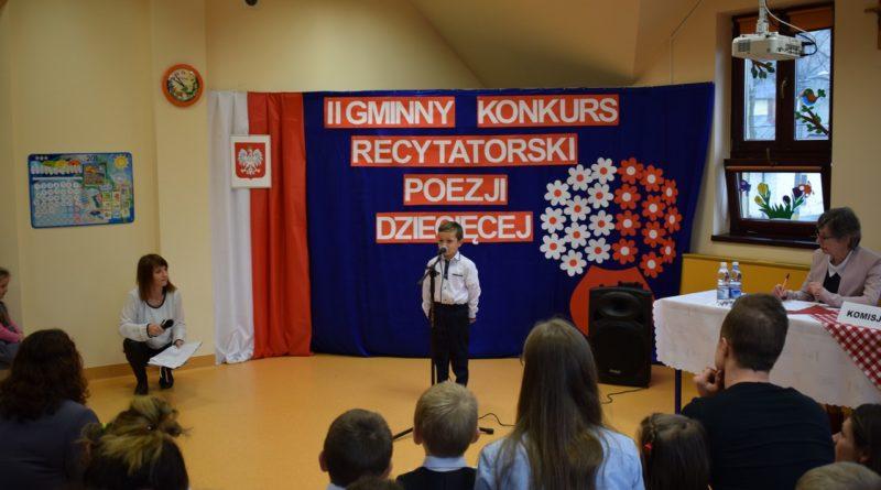Przedszkolaki Recytują Wiersze Patriotyczne Gminne Centrum